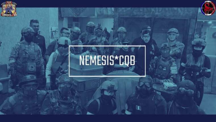 (repost video effectué par la wolfpack 34) PM AIRSOFT Némésis CQB 💪 27 09 2020 🔫 WPR34 🐺