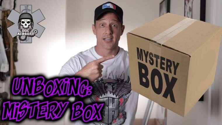 REVUE |  UNBOXING MYSTERY BOX AIRSOFT |  Vaut la boîte mystérieuse?