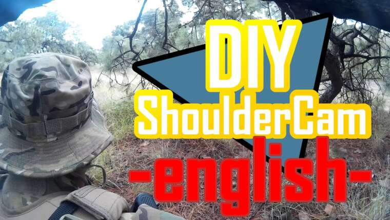 DIY Airsoft Shoulder Cam – Anglais