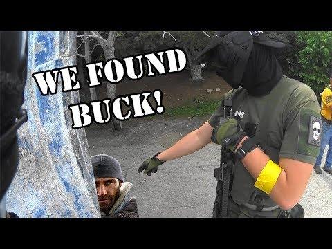 Nous avons trouvé Buck! – Match à mort par équipe Airsoft – Explosion de paintball