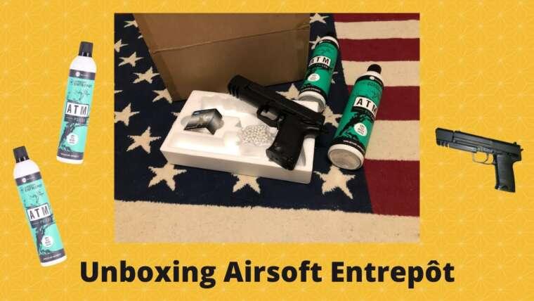 Unboxing Airsoft Entrepôt !!