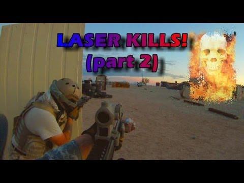 Toxic Airsoft – Le laser tue le match CTF – Partie 2
