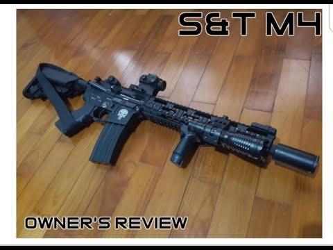 S&T M4 |  avis du propriétaire personnel |  revue airsoft