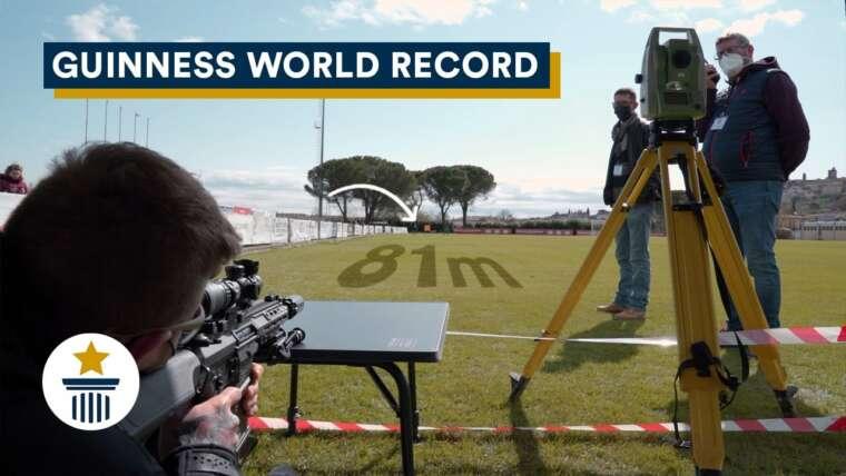 Ha superato 80m avec 1 joule • Airsoft Guinness World Records – Nikk Sakk