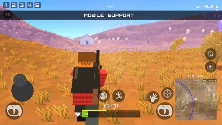 PUBG PIXEL hors ligne – Android Gameplay HD