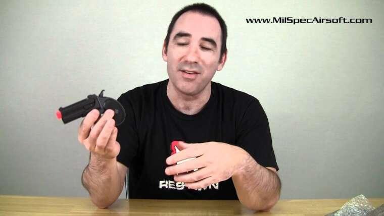 Critique du Marushin 6mm Derringer Airsoft