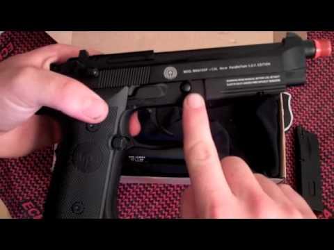 Examen du pistolet Airsoft SOCOM M9A1