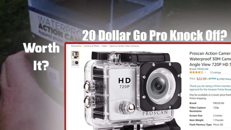 20 DOLLAR GOPRO KNOCK OFF – Vaut-il la peine?  – EXAMEN AIRSOFT