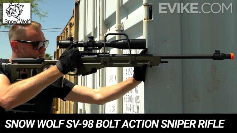 Snow Wolf SV-98 Bolt Action Airsoft Sniper Rifle – Critique