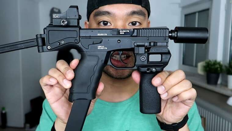 ASG USW A1 Airsoft Critique |  Allemand