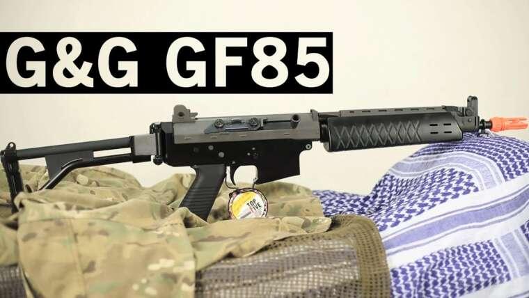 Airsoft GI – Nouvelle revue du fusil G&G GF85 Assualt avec Tim et Jet de DesertFoxAirsoft