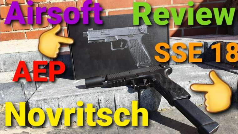 Test Airsoft: Novritsch SSE 18 AEP 0,5 Joule 1080/60 Fps