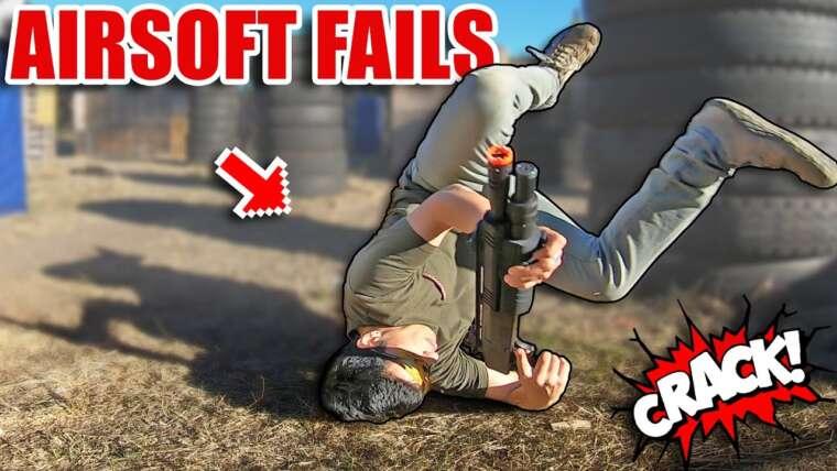 TOP FAILS AIRSOFT # 10 🤣 ▬ TACTICAL TRICK sort BAD️ 🤕