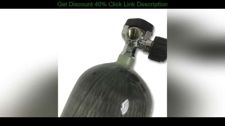 Évaluer AC16821 équipement de paintball 6.8L airsoft co2 carabine à air comprimé pcp bouteille de plongée cible de tir hun