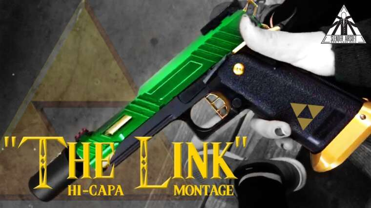 """Le lien"" Montage du pistolet HiCapa Tracer 
