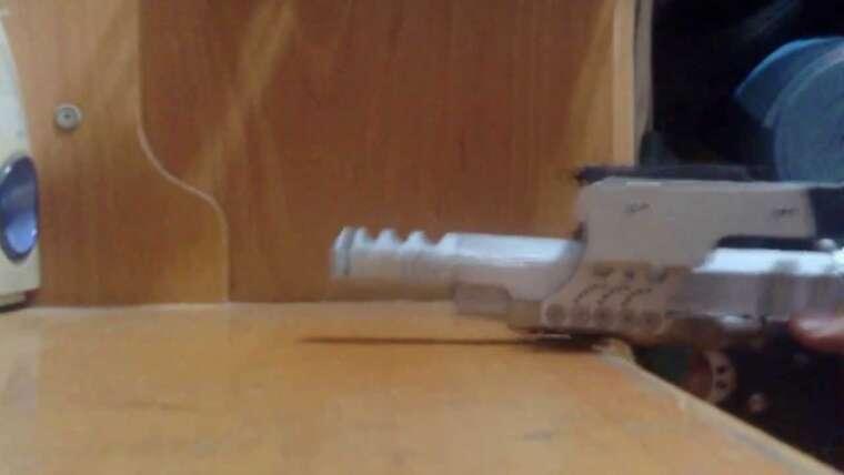 Action de refoulement (recul) du pistolet Airsoft