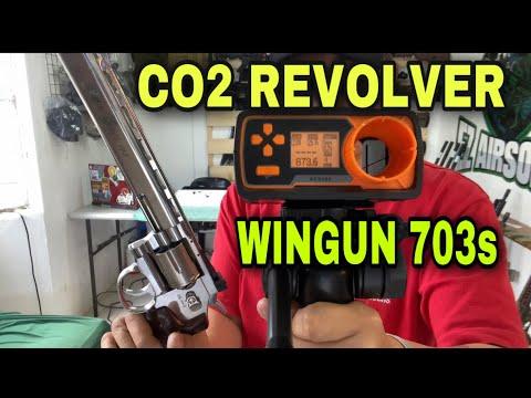 Revolver CO2 Wingun 703s Revue rapide (TOY GUN SEULEMENT / AIRSOFT TOY SEULEMENT / PAS REEL!)