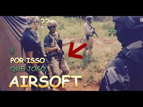 Vous voudrez jouer à Airsoft avec nous!     Gameplay