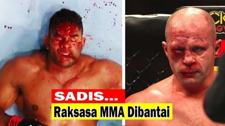 Tragique!!  Le moment épique du géant de MMA massacré tristement