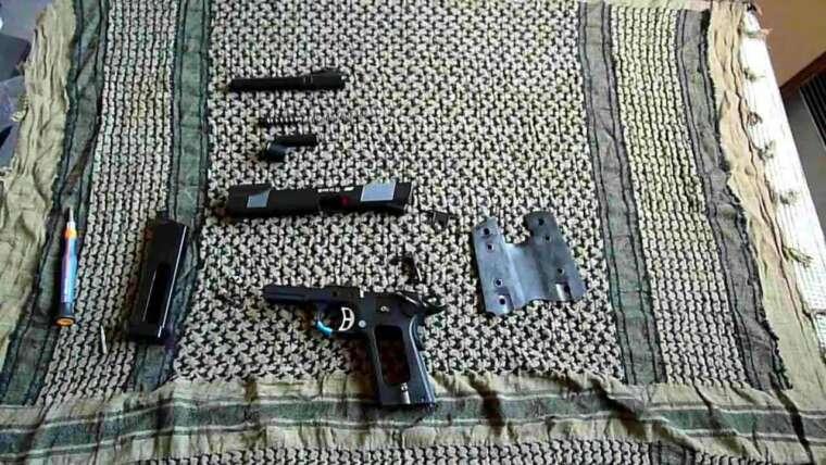 [AIRSOFT] Tutoriel N°2 – Démontage sommaire réplique GBB Colt type 1911 et dérivés [FR]