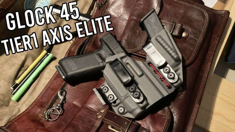 Glock 45, Tier1Concealed Axis Elite Review!