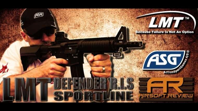 REVUE ASG / AIRSOFT LMT DEFENDER RIS SPORTLINE