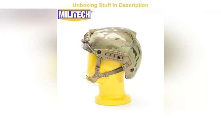 Donner votre avis sur MILITECH Air Frame ventilé Multicam Camo Super ABS Airsoft Casque tactique Crye High Cut Trai