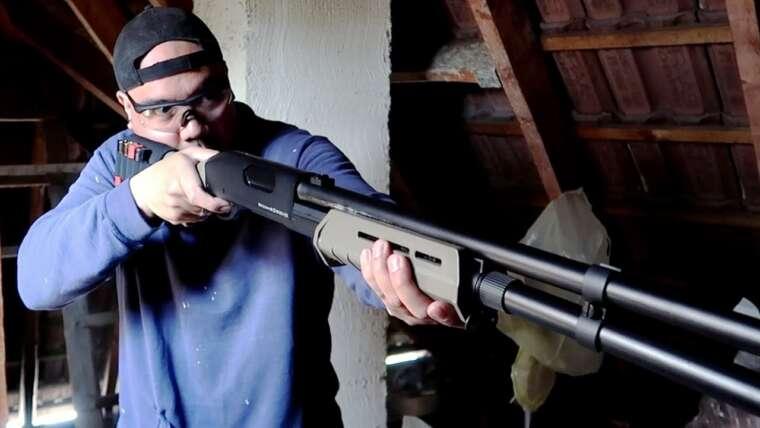 CM355 Airsoft Shotgun Review et unboxing allemand