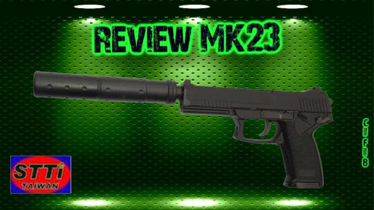 [Airsoft review] MK23 STTI KJW (test de tir)
