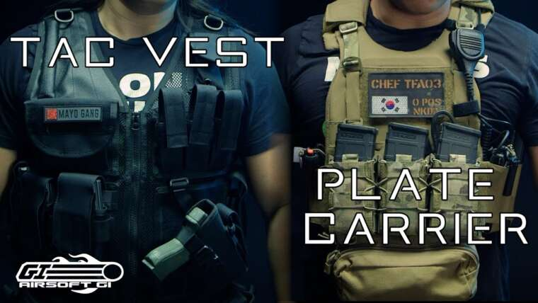 AIRSOFT GARAND POUCE?!  – Porte-plaques VS gilets tactiques |  Airsoft GI