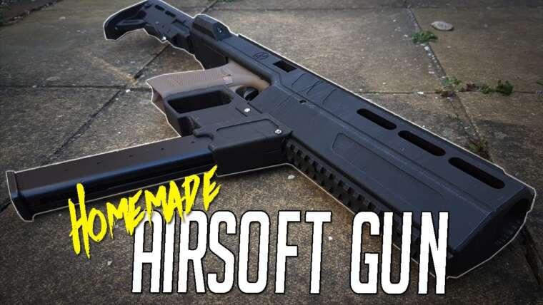 Pistolet Airsoft imprimé en 3D ????  |  Revue Airsoft / Gameplay