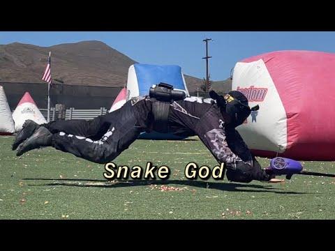 Terrain de Paintball Gladiator     Speedball     Un autre serpent d'échelle!