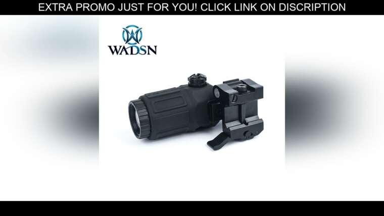 Évaluer Lunette de chasse au télescope tactique Aim-O G33 3X Magnifier Holographic Sight avec QD Mount to S