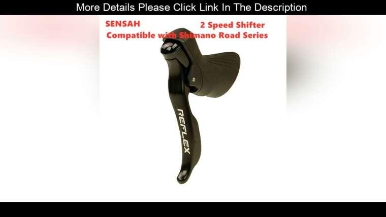 ☄️Review SENSAH IGNITE vélo de route manette de vitesse 2×8 2×9 vitesse levier de frein vélo R7000 Tiagra Sora sensah