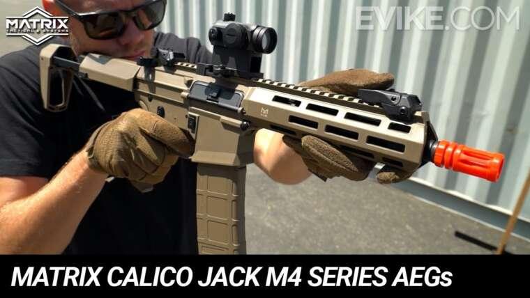 """Matrice """"Calico Jack"""" AEG série M4 – Instantané"""