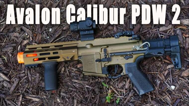 Un de mes 5 meilleurs PDW Airsoft;  Une analyse complète de l'Avalon Calibur PDW 2