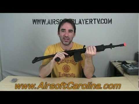 Revue du pistolet Airsoft Cybergun Galil SAR AEG