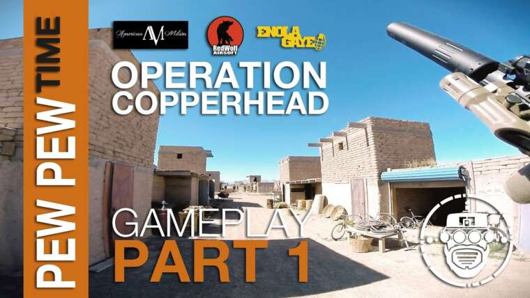 Robo-Airsoft: Pew Pew Time – Copperhead: Gameplay Partie 1 – Gameplay Airsoft
