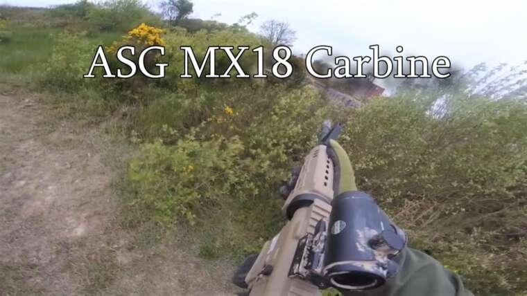 Gameplay et revue de la carabine ASG MX18 (Wasteland Airsoft)
