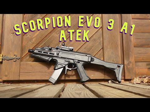 [Review] Scorpion Evo 3 A1 ATEK de CZ (ASG) Airsoft / Softair allemand / allemand