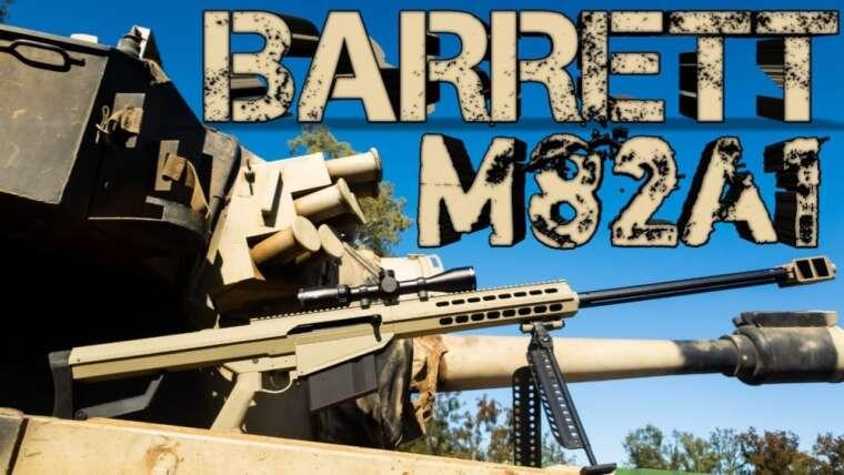 Barrett M82A1 Galaxy Bolt Action @Gelsoft Australia (Revue de tireur d'élite de Tank Warfare & Gel Ball Blaster)