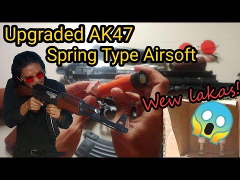 Amélioré et plus durable NO: 9623 AK47 Spring Type Airsoft (UPGRADE by UNBOXING SIMULATOR)