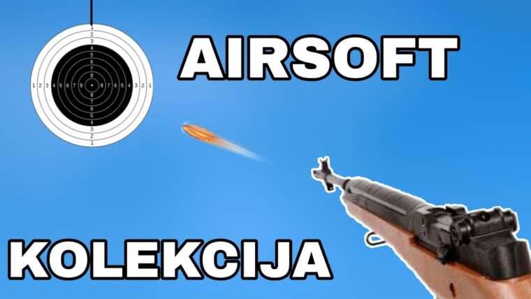 Revue de la collection Airsoft!  (PARTIE 1)