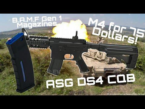 Avis ASG DS4 CQB M4 Airsoft!