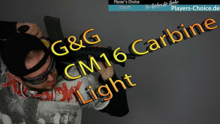 G&G CM16 Carbine Light (Black) Airsoft – 0,5J – Critique