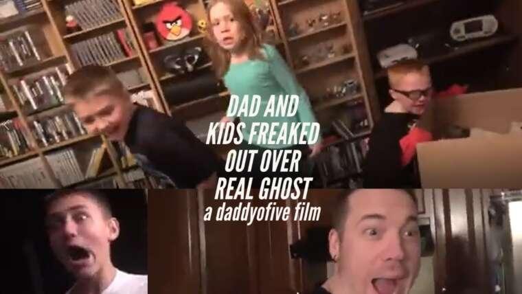PAPA ET ENFANTS SORTENT DE VRAI FANTÔME    Un film DaddyOFive