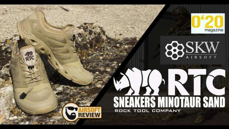 [FR ] AIRSOFT GEAR / SNEAKERS MINOTAUR SAND / RTC / SKYWAY / 0,20 MAG # AIRSOFT REVIEW