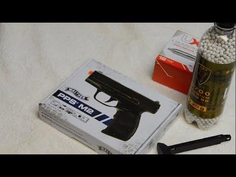 Déballage du pistolet Walther PPS M2 AirSoft