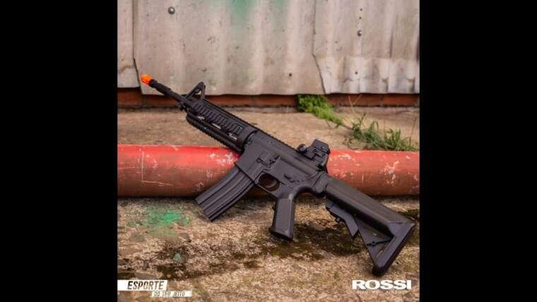Évaluer Carabine Airsoft Rossi AR15 Neptune 8 SD