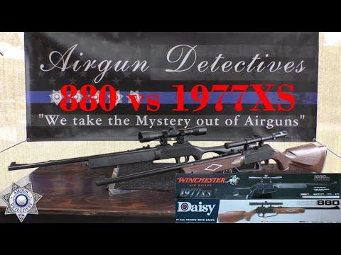 """Daisy 880 contre Winchester 1977XS """"Revue complète"""" par Airgun Detectives"""